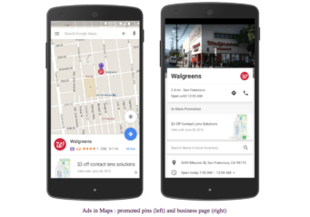 promoted pins on google maps