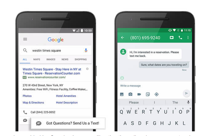Google Text Ad Extension