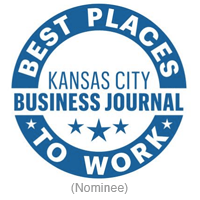 Nominee for Best Places to Work in KC award