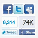 "Social Icons ""Like"" Tracker"