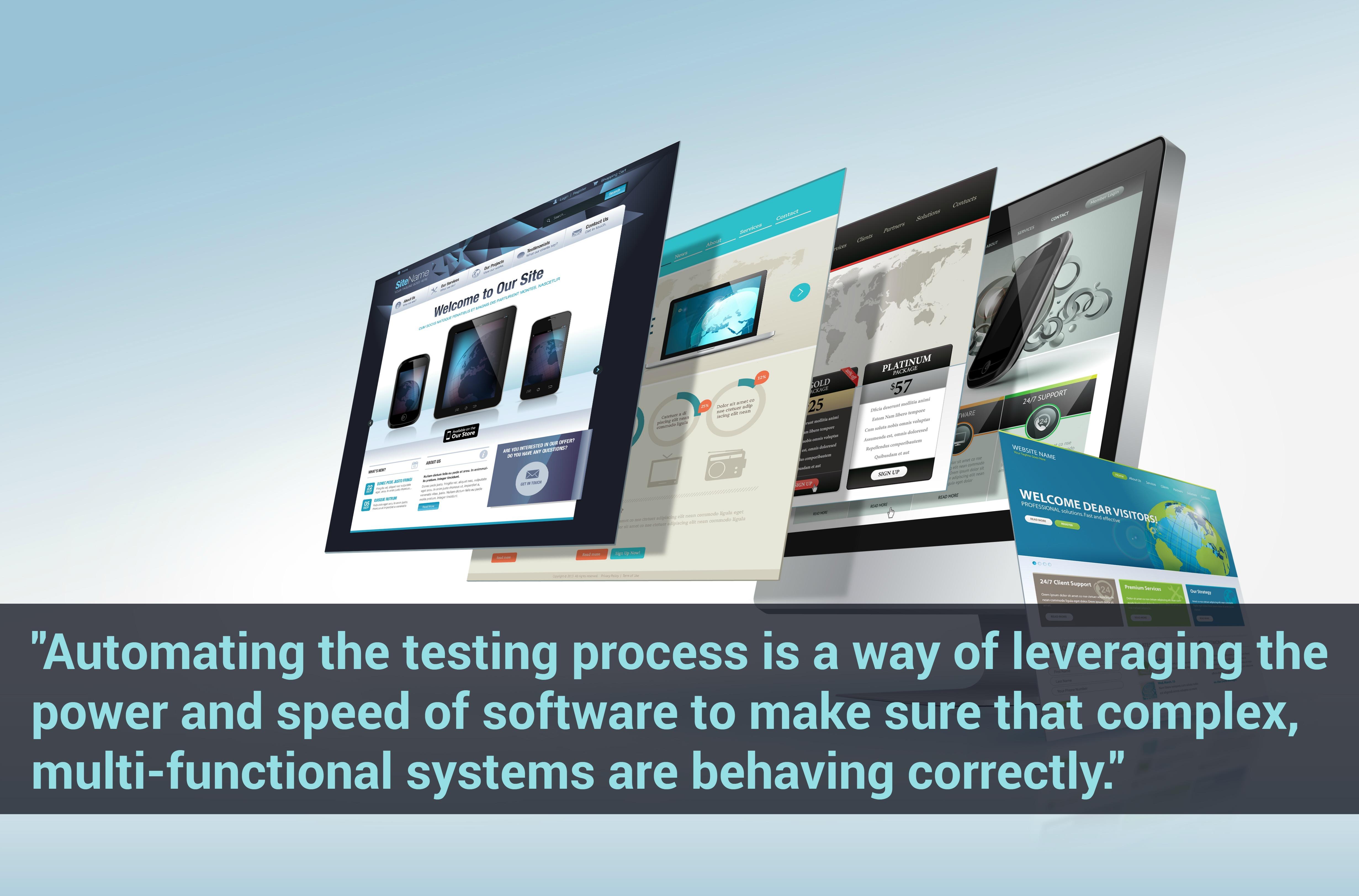 Automate website testing