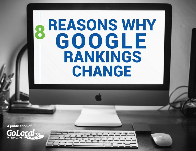 8 reasons why your google rankings change