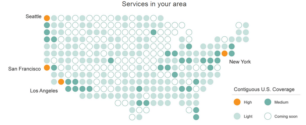 Amazon Home Services coverage in your area