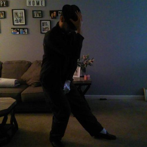 Thomas dancing