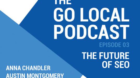 The Future of SEO. Go Local Podcast, Episode 03