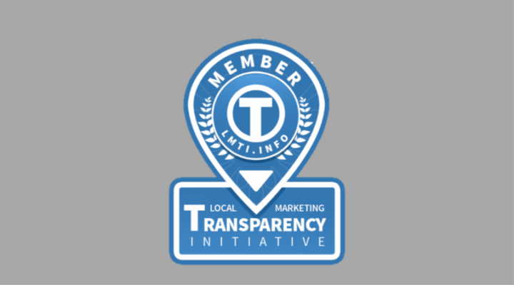 Local Marketing Transparency Initiative badge