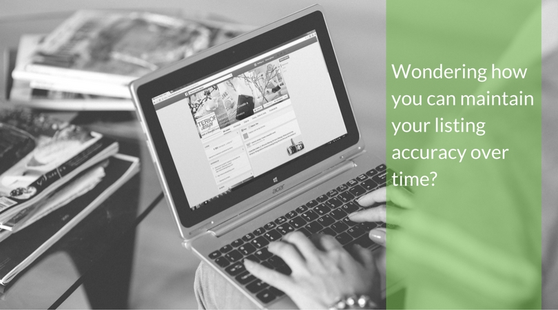 Wondering how you can maintain listing accuracy over time?