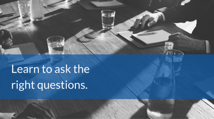 Content marketing - learn to ask the right questions.