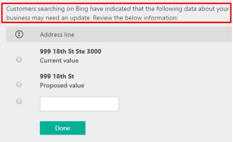 Bing Business Listing